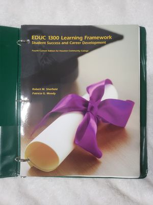 HCC BOOK (EDUC 1300) for Sale in Houston, TX