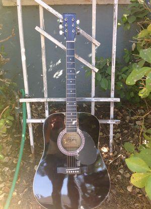 Esteban black acoustic unused guitar. for Sale in Whittier, CA