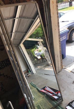 Full size body mirrors- 6ft7 Hight 3ft1 width for Sale in Salt Lake City, UT