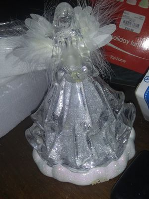 Brand new Fiber optic color changing angel for Sale in Fort Mitchell, AL