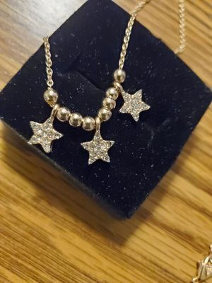 2 gold tone bracelets with stars for Sale in Wenatchee, WA