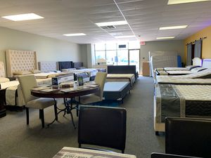 Bed frame and mattress show room super deals today. Special financing available for Sale in Irving, TX