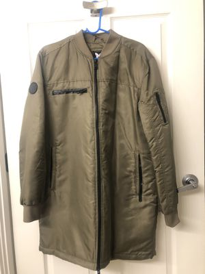 Green Fashion Parka Coat Bomber Style for Sale in Washington, DC