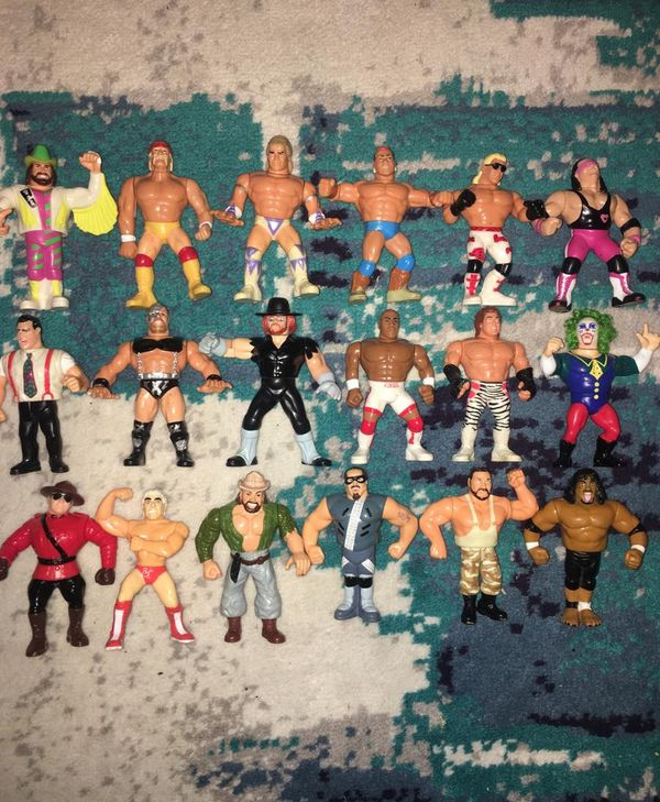 WWF WWE wrestling figures old school vintage hasbro Collectible Toys