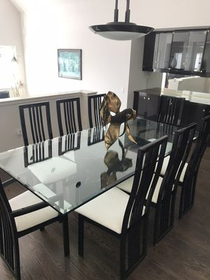 Glass Kitchen/Dining Room table for Sale in Seattle, WA