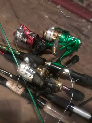 Fishing poles and reels for Sale in Portland, OR