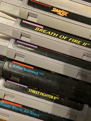 Super Nintendo Games for Sale in Fort Worth, TX