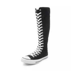 Knee high black converse chuck taylor for Sale in Dallas, TX