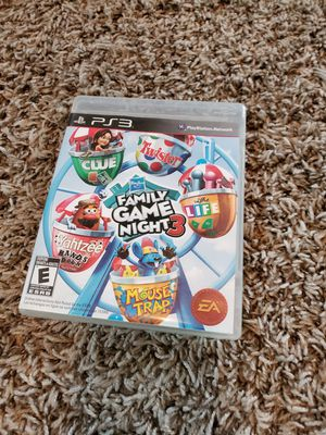 Ps3 family game night 3 for Sale in Saginaw, TX