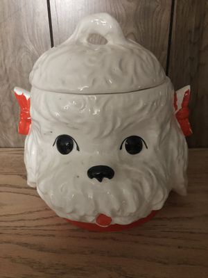 MORTON pottery antique cookie jar for Sale in Varna, IL