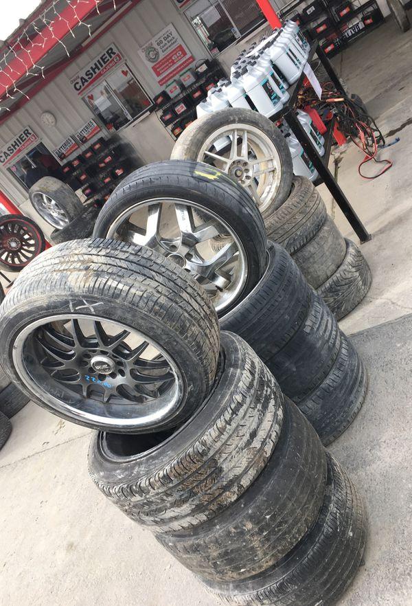 Aftermarket rims at IPULLUPULL auto parts