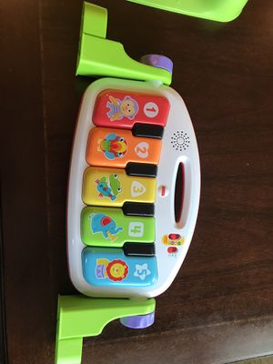 Fisher price kick and play smart stages piano. Works great for Sale in Clovis, CA
