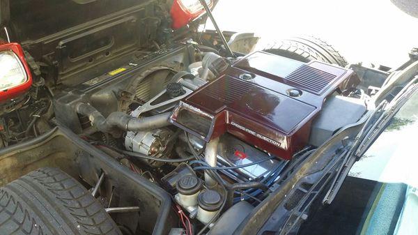 1984 Chevy corvette