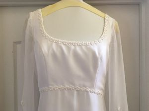 Wedding Dress - Size 12 - 14, Plus Bridal Veil for Sale in Daniels, MD