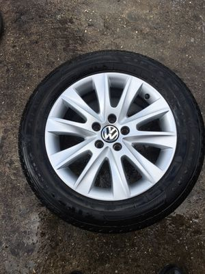 09 10 11 12 vw tiguan set of wheels (4) for Sale in Hollywood, FL