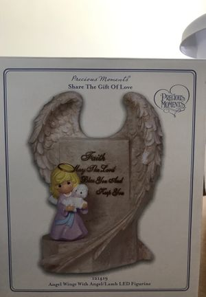Precious moments figurine, nib. Never opened. for Sale in Brook Park, OH