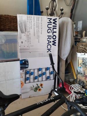 Gourmet Basics by Mikasa Willow Mug Rack...farmhouse for Sale in Tolleson, AZ