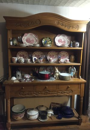 DISPLAY SHELVES WITH DRAWRRS for Sale in Granby, MO