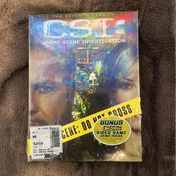 CSI: Seventh Season DVD with Bonus Video Game Demo for Sale in North Highlands,  CA