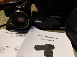 Confool 4k Video Camera for Sale in North Versailles, PA