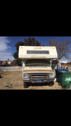 Dodge RV 1978 FIXER UPER . Was driven to my house five years ago and was running okay . I don't know nothing about it . Been under non op since that for Sale in Palmdale, CA