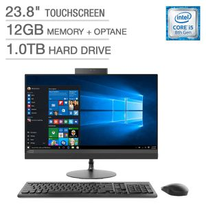 lenovo ideacentre aio 520-24icb touchscreen all in one pc for Sale in Winston-Salem, NC