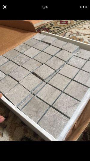 Stone back splash 9 1/2 sheets for Sale in Tampa, FL