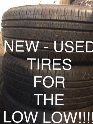 18 Inch, 20 inch, 22 inch, 24 inch, 26 inch and 28 inch tires For the LOW ! for Sale in Columbus, OH