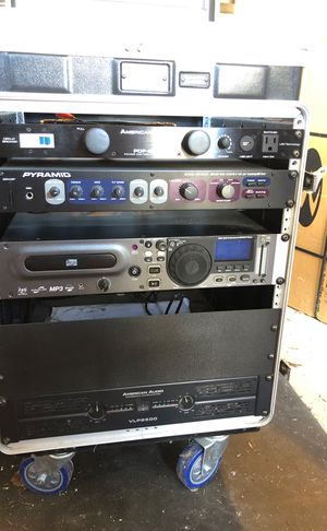 Professional dj equipment with Gator Case for Sale in Gainesville, VA