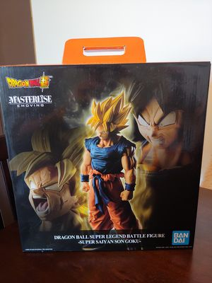 Dragon Ball Z Super - Goku - Masterlise Emoving Statue for Sale in Elyria, OH