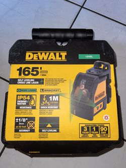 Dewalt Self Leveling Cross Line Green Laser (brand New Nuevo )…$165 Price Firm  for Sale in Anaheim, CA