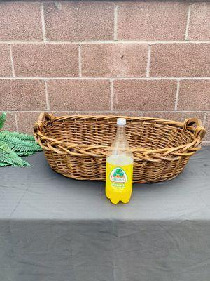 Big Woven Wicker Basket for Sale in Downey, CA