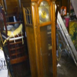 Tenpus Fugit antique Grandfather clock for Sale in Cleveland, OH