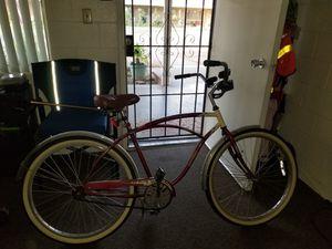 FS Elite classic cruiser bike with basket for Sale in Fresno, CA