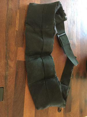 Scuba soft lead pouch belt. for Sale in Miami, FL