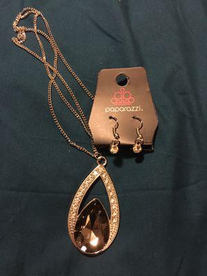 Teardrop shape necklace for Sale in Homeland, CA