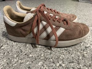 Adidas Gazelle Pink White Sneakers Womens Sz 8 for Sale in Coral Gables, FL