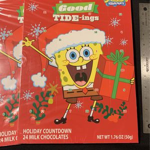 Holiday Countdown SPONGEBOB SQUARE PANTS for Sale in Commerce, CA