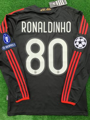 8d958f658 2008/09 AC Milan 3rd kit soccer jersey RONALDINHO for Sale in Raleigh, NC