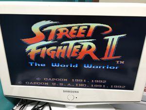 Super Nintendo street fighter for Sale in Miami, FL