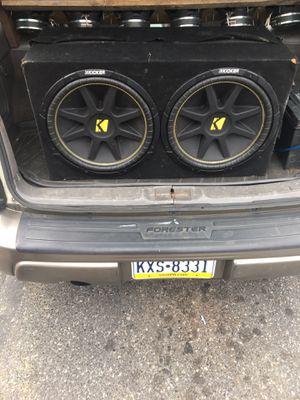 "Kickers bass box 15"" for Sale in Philadelphia, PA"