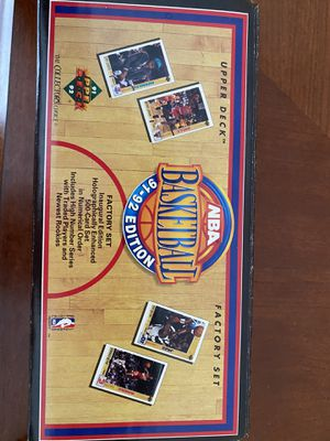 1991-1992 NBA complete set for Sale in Lorain, OH
