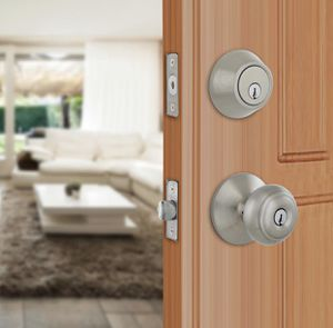 Defiant Hartford Satin Nickel Single Cylinder Keyed Entry Project Pack for Sale in Redlands, CA