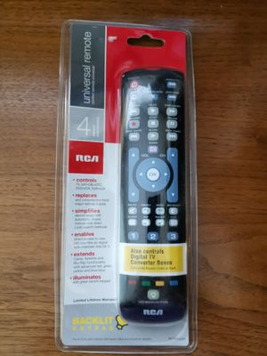 RCA Universal Remote with Backlit Keypad NEW for Sale in Midlothian, VA
