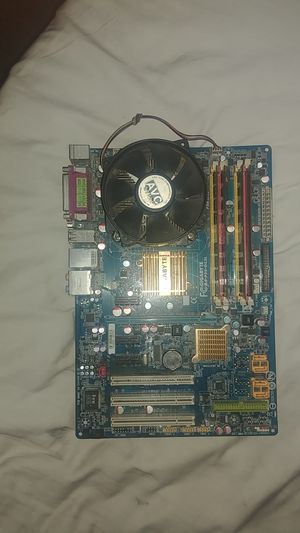 Gigabyte GA-p35-ds3l fully loaded motherboard for Sale in Riverview, MI