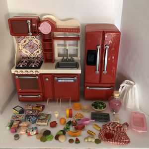 Our generation red kitchen for American girl for Sale in Surprise, AZ