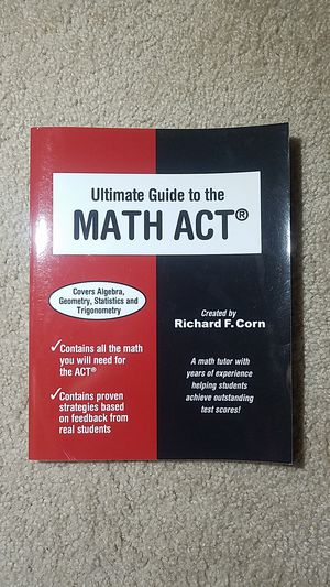Ultimate Guide to the Math ACT for Sale in Fairfax, VA