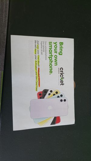 Cricket wireless Moore for Sale in Moore, OK
