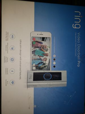 Ring Video Doorbell Pro for Sale in Plano, TX