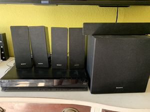 Sony Speaker And DVD Player for Sale in Las Vegas, NV